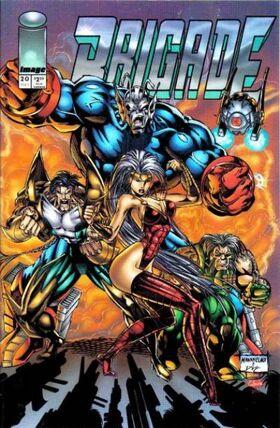 Cover for Brigade #20 (1995)