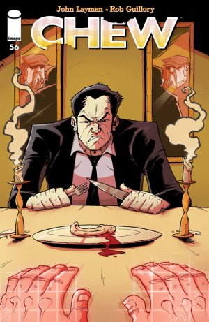 Cover for Chew #56 (2016)