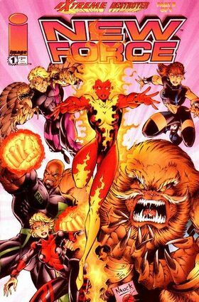 Cover for New Force #1 (1996)