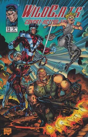 Cover for WildC.A.T.s: Covert Action Teams #12 (1994)