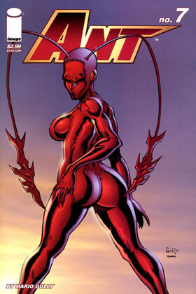Cover for Ant #7 (2006)