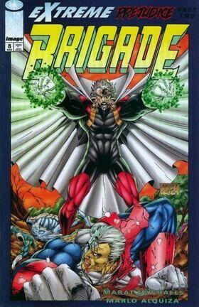 Cover for Brigade #8 (1994)