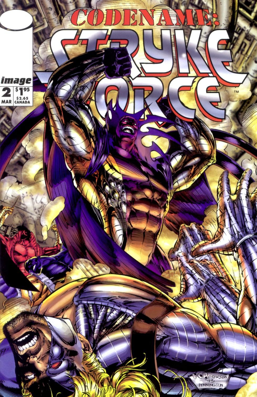 Codename: Stryke Force Vol 1 2