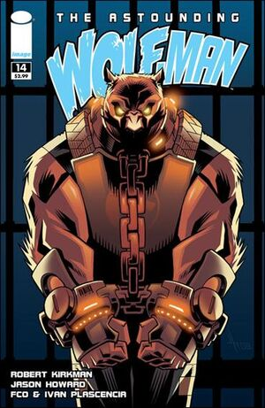 Cover for Astounding Wolf-Man #14 (2009)