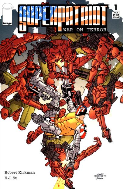 SuperPatriot: War on Terror Vol 1