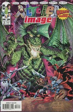 Cover for Altered Image #3 (1998)