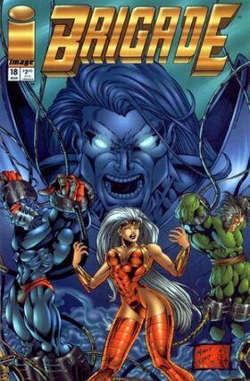 Cover for Brigade #18 (1995)
