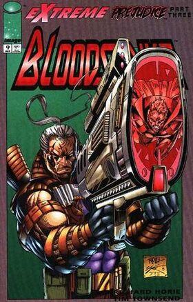 Cover for Bloodstrike #9 (1994)