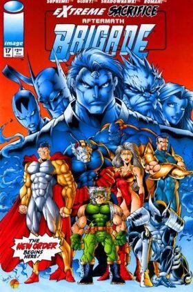 Cover for Brigade #17 (1995)