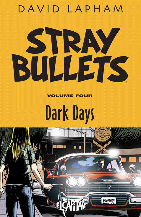 Stray Bullets TPB Vol 4 Dark Days (Collected)