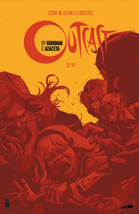 Cover for Outcast #11 (2015)