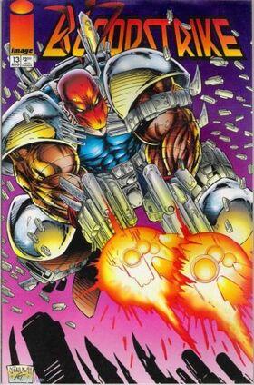 Cover for Bloodstrike #13 (1994)