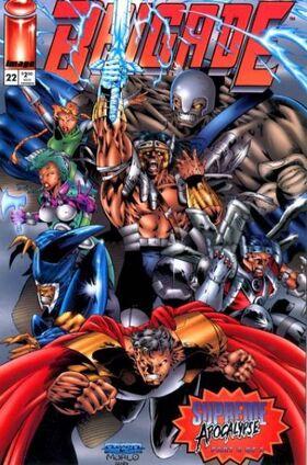 Cover for Brigade #22 (1995)