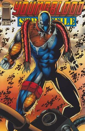 Cover for Youngblood Strikefile #3 (1993)