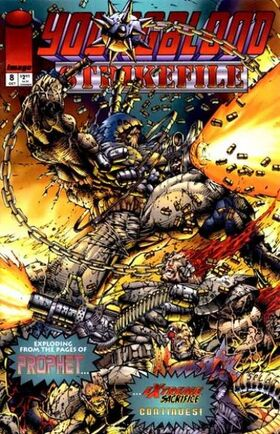 Cover for Youngblood Strikefile #8 (1994)