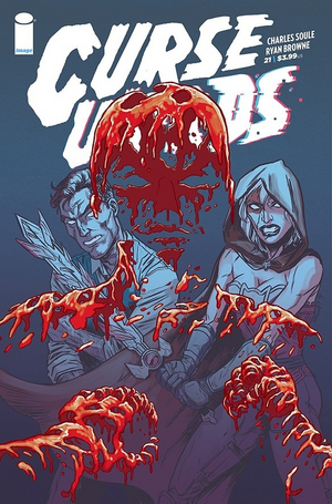 Cover for Curse Words #21 (2019)