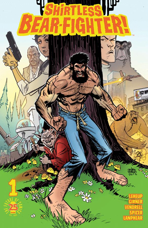 Shirtless Bear-Fighter Vol 1 1
