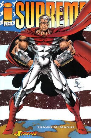Cover for Supreme #7 (1993)