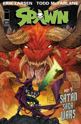 Cover for Spawn #261 (2016)