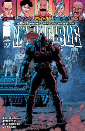 Cover for Invincible #113 (2014)