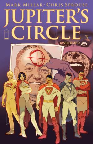 Cover for Jupiter's Circle #3 (2016)