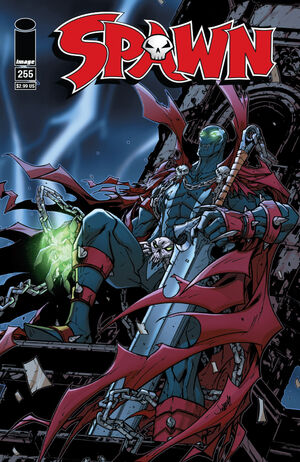Cover for Spawn #255 (2015)
