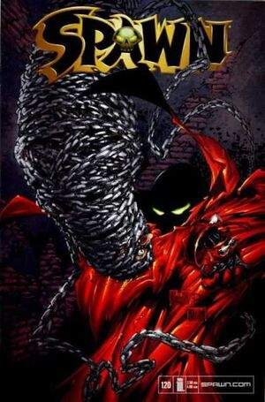 Cover for Spawn #120 (2002)