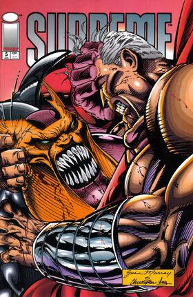 Cover for Supreme #5 (1993)