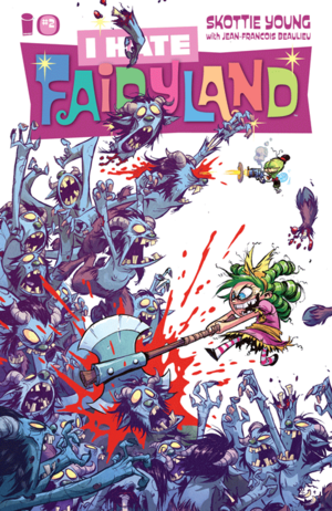 Cover for I Hate Fairyland #2 (2015)