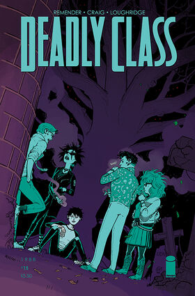 Cover for Deadly Class #15 (2015)