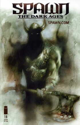 Cover for Spawn The Dark Ages #18 (2000)