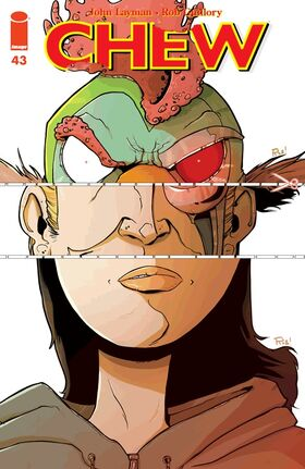 Cover for Chew #43 (2014)