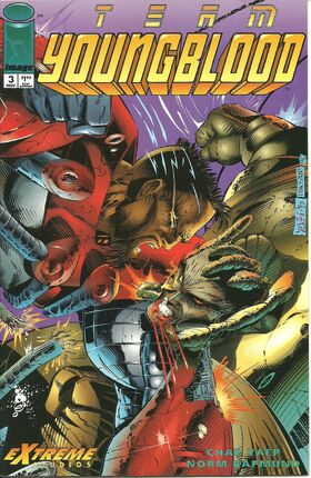 Cover for Team Youngblood #3 (1993)
