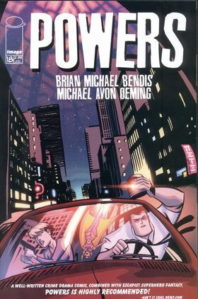 Cover for Powers #18 (2002)