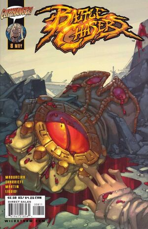Cover for Battle Chasers #8 (2001)