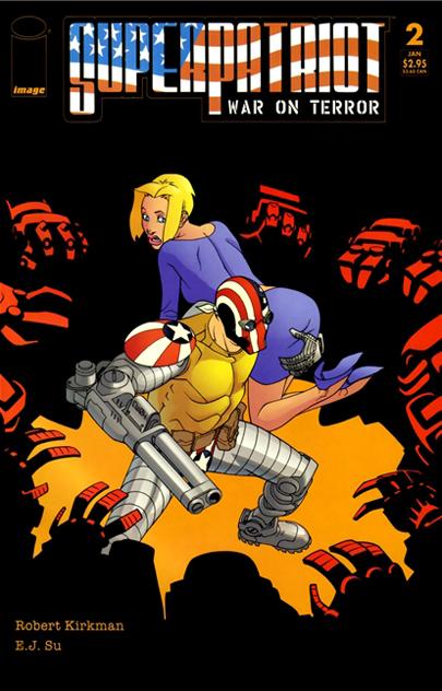 SuperPatriot: War on Terror Vol 1 2