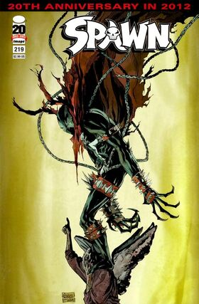Cover for Spawn #219 (2012)
