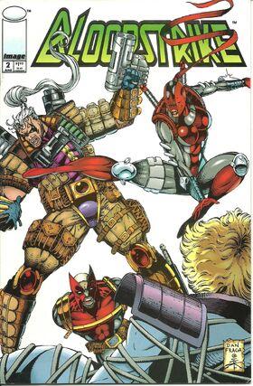Cover for Bloodstrike #2 (1993)