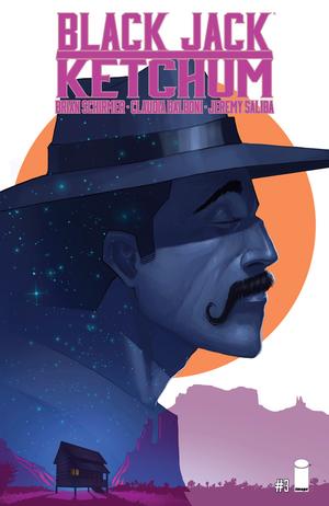Cover for Black Jack Ketchum #3 (2016)