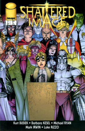 Cover for Shattered Image #2 (1996)