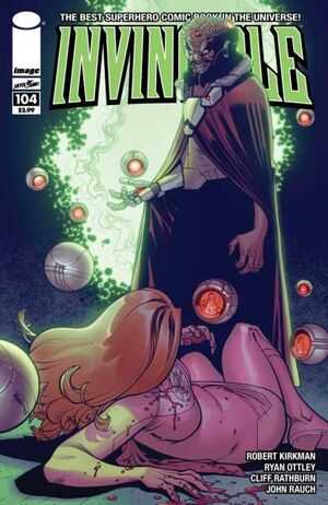 Cover for Invincible #104 (2013)