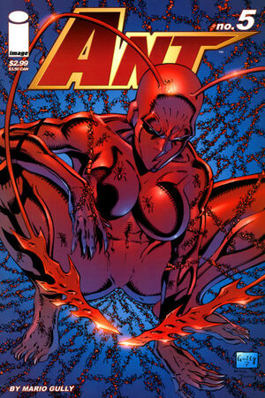 Cover for Ant #1 (2006)