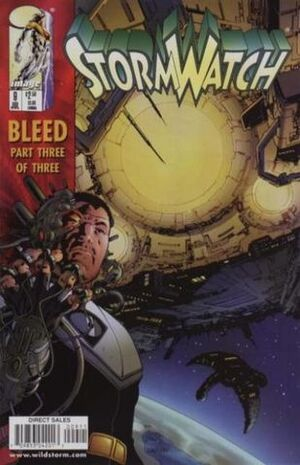 Cover for StormWatch #9 (1998)