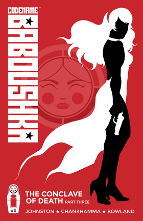 Cover for Codename Baboushka: The Conclave of Death #3 (2015)