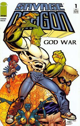 Cover for Savage Dragon: God War #1 (2004)