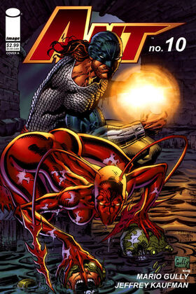 Cover for Ant #10 (2007)