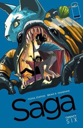 Cover for Saga #26 (2015)