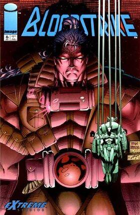 Cover for Bloodstrike #6 (1993)