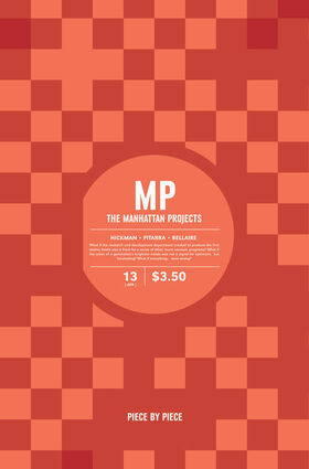 Cover for The Manhattan Projects #13 (2013)