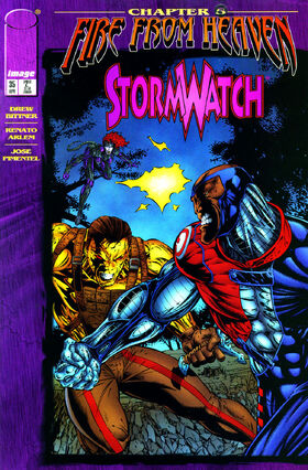 Cover for StormWatch #35 (1996)